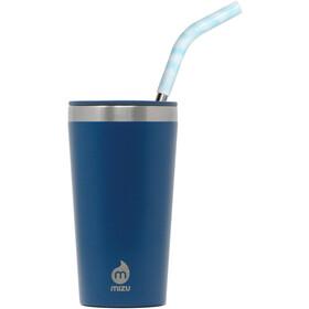 MIZU 16 Enduro LE Tumbler with Ice Blue Straw ocean blue